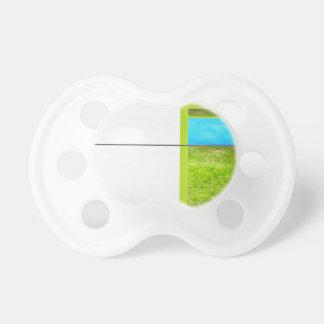Green door pacifier