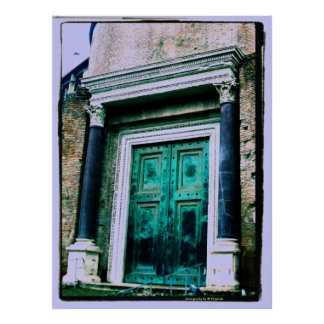 Green Door..photography by JB Originals Poster