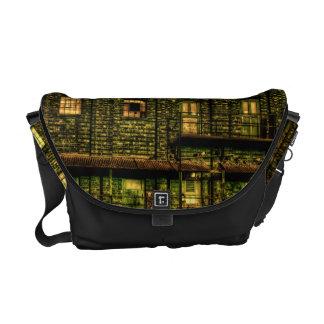 Green Doors Messenger Bag
