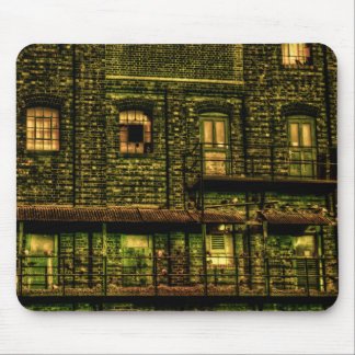 Green Doors Mouse Pad