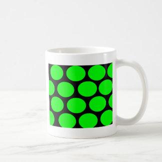 Green Dots Coffee Mug