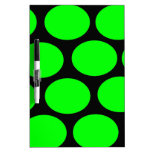 Green Dots Dry Erase Boards