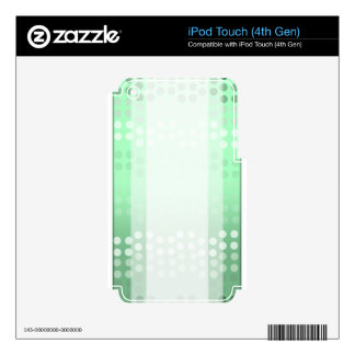 Green Dots iPod Touch 4G Skin