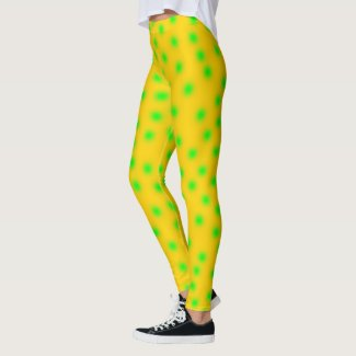 green dots leggings