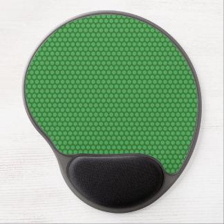 Green Dots on Green Gel Mousepad