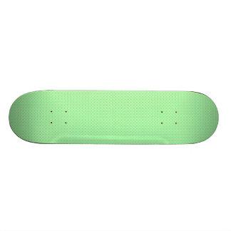 Green Dots Pattern Skate Boards