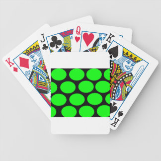 Green Dots Playing Cards