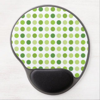 Green Dotted Gel Mouse Mats