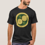 Green Double Spiral – Celtic T-Shirts