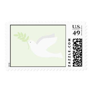 Green Dove Postage