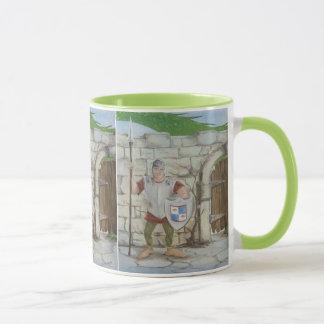 Green Dragon and Knight Mug