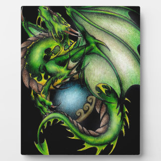 Green Dragon Circle.jpeg Plaque