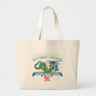 Green Dragon Cologne Tote Bags