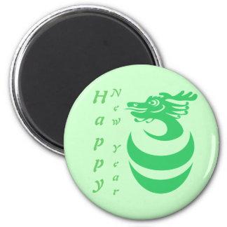 Green Dragon Custom Magnet