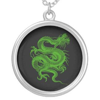 Green Dragon Draco Necklace
