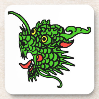 Green Dragon Drink Coaster