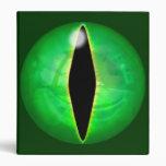 Green Dragon Eye Binders