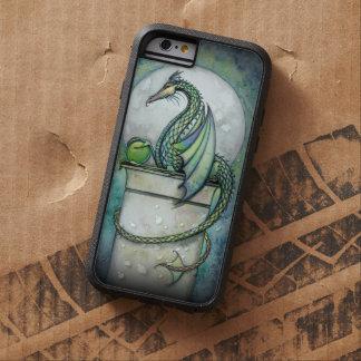 Green Dragon Fairy Fantasy Art Artwork Fairies Tough Xtreme iPhone 6 Case