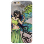 Green Dragon Fairy Fantasy Art Artwork Fairies Barely There iPhone 6 Plus Case