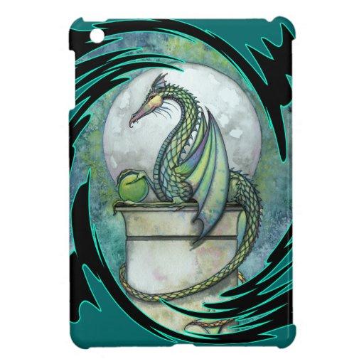 Green Dragon Fantasy Art iPad Mini Case