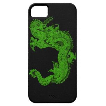 Green Dragon Herensuge iPhone 5G Case