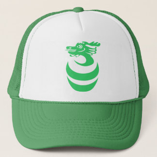 Green Dragon in Egg Hat