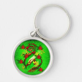 Green Dragon Keychain