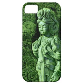 Green Dragon Kuan Yin Zen Buddha iPhone 5 Case