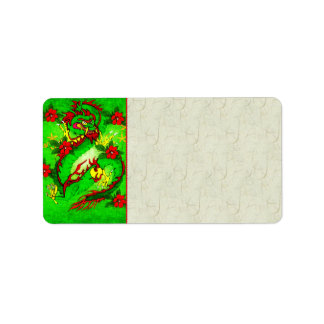 Green Dragon Label
