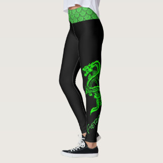 Green Dragon Leggings
