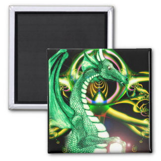 Green Dragon ~*Lore*~ Magnet