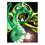 Green Dragon ~*Lore*~ Post Card