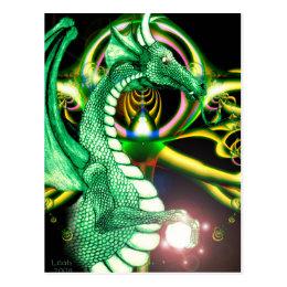 Green Dragon ~*Lore*~ Postcard