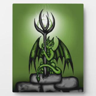 green Dragon Plaque