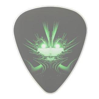 Green Dragon Polycarbonate Guitar Pick