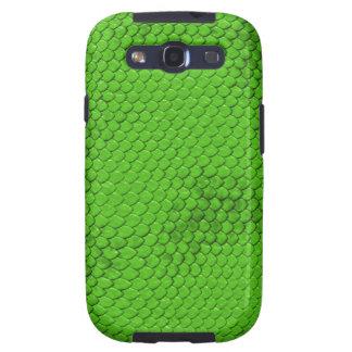 Green Dragon Scale Samsung Galaxy S3 Cover