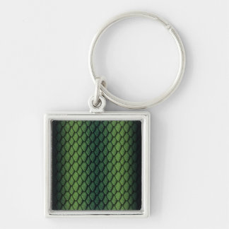 Green Dragon Scales Key Chains