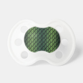 Green Dragon Scales Pacifiers