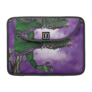 Green Dragon Sleeves For MacBook Pro