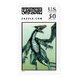 Green Dragon Stamp