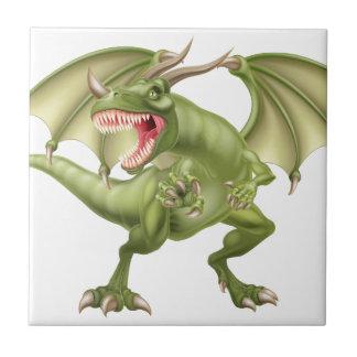Green Dragon Tile