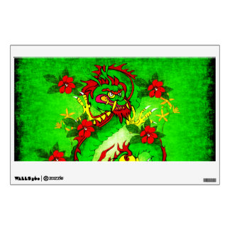 Green Dragon Wall Sticker