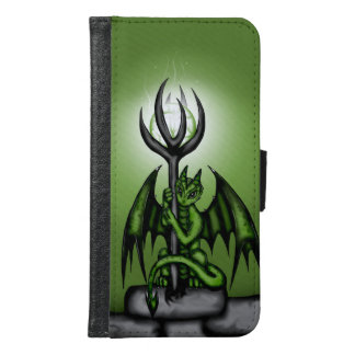 green Dragon Wallet Phone Case For Samsung Galaxy S6