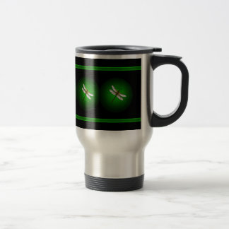 Green Dragonfly Dragonflies Insects Mug