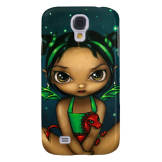 """""""Green Dragonling"""" iPhone 3 Case"""