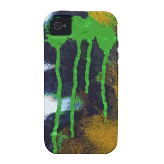 Green Drips iPhone 4 Cover