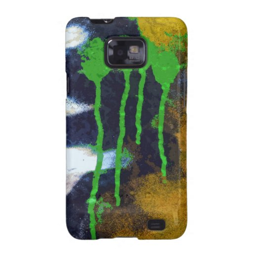 Green Drips Samsung Galaxy S2 Covers