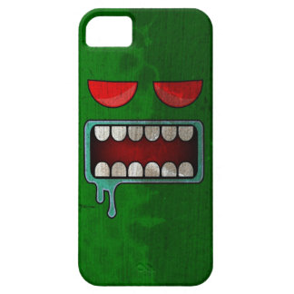 Green Drooling Red-Eyed Monster Face iPhone SE/5/5s Case