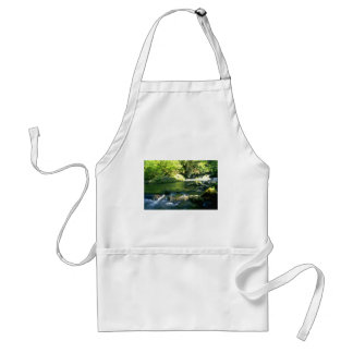 Green Drops Adult Apron