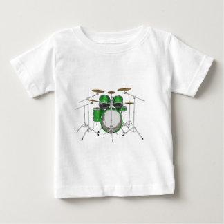 Green Drum Kit: Baby T-Shirt